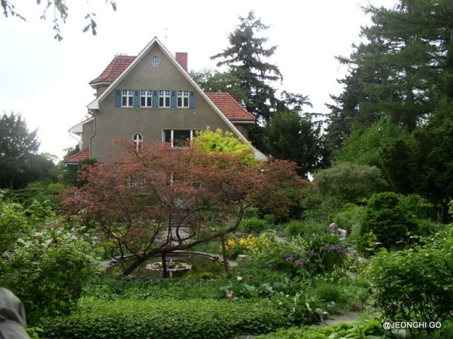 Karl Foerster Garten in Potsdam-Bornim, Sunkengarden