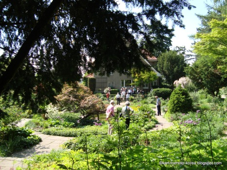Karl Foerster Garten in Potsdam-Bornim, sunken garden
